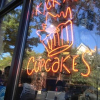 Photo taken at Kickass Cupcakes by 9ft5wt on 9/16/2012