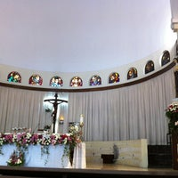 Photo taken at Gereja Santa Theresia by °•✿°Pℜ❣Ñč♔§§♛ °. on 11/11/2012