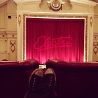 Photo taken at Electric Cinema by Chris P. on 3/18/2013