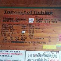 Photo taken at Bung Sam Ran Fishing Park by WillWins on 7/15/2013