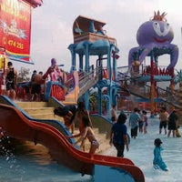 Photo taken at Citra Garden Water Park by Nitha S. on 6/16/2013