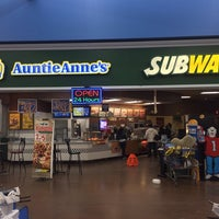 Photo taken at Auntie Anne's / Subway by Michael P. on 2/2/2014