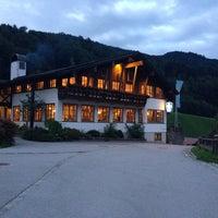 Photo taken at Best Western Plus Berghotel Rehlegg by Ulli on 8/21/2014
