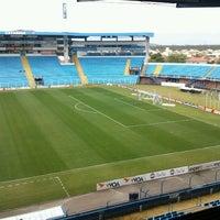 Photo taken at Estádio Aderbal Ramos da Silva (Ressacada) by Daniel I. on 9/29/2012