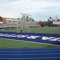 Photo taken at Varsity Stadium by Denise C. on 8/11/2013