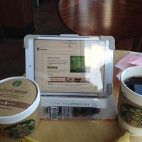 Photo taken at Starbucks by Lara W. on 9/30/2013