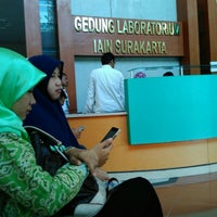 Photo taken at Institut Agama Islam Negeri (IAIN) Surakarta by Alita Arifiana A. on 5/16/2016