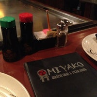 Photo taken at Miyako Japanese Steakhouse by Giles N. on 3/23/2013