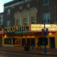 Photo taken at The Colonial Theatre by Julie C. on 4/9/2016