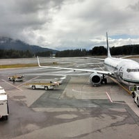 Photo taken at Juneau International Airport (JNU) by Hunter W. on 8/5/2013