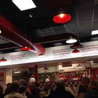 Photo taken at Five Guys by Dylan G. on 11/9/2013