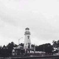 Photo taken at Port Credit Lighthouse by Michaela D. on 8/15/2015