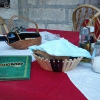 Photo taken at Trattoria Il' Giardino by Ромуальд Л. on 4/20/2013