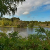 Photo taken at Joe's Creek Greenway Park by Tony B. on 11/5/2013