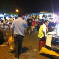 Photo taken at Pasar Malam Taman Bukit Anggerik by Juvi S. on 2/23/2013