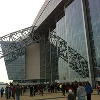 Photo taken at AT&T Stadium by SusanAnnC on 12/22/2012