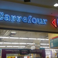 Photo taken at Carrefour by Eka W. on 4/23/2013