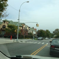Photo taken at Benches On Ocean Parkway by Albert S. on 10/16/2013