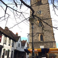 Photo taken at St Albans Clock Tower by Christina P. on 11/19/2016