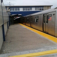 Photo taken at MTA Subway - Broad Channel (A/S) by Stacy C. on 6/6/2013