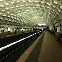 Photo taken at Judiciary Square Metro Station by Dave F. on 10/2/2012
