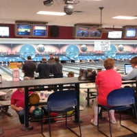 Photo taken at Royal Crest Lanes by Andy A. on 2/28/2016