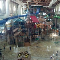 Photo taken at Great Wolf Lodge by Patrick C. on 11/26/2012