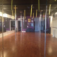 Photo taken at Gravity Pole Fitness by Monica M. on 9/21/2013