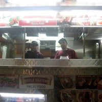 Photo taken at Halal Food Stand (across from Pizza Wagon) by James G. on 1/27/2011