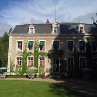Photo taken at Chateau De Challanges by Rafael P. on 9/15/2013