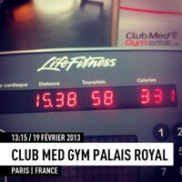 Photo taken at CMG SPORTS CLUB One Palais Royal by ^_^ on 2/19/2013