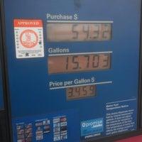 Photo taken at Exxon by James B. on 12/8/2012