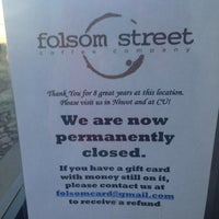 Photo taken at Folsom St. Coffee Co. by Kristopher C. on 2/2/2013
