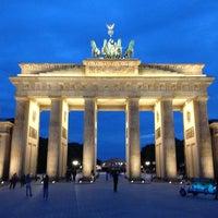 Photo taken at Brandenburg Gate by Wim M. on 6/28/2013