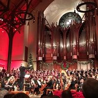 Photo taken at First United Methodist Church Richardson by ℒeslie W. on 12/20/2015