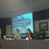 Photo taken at Universidad de Palermo by Luis Alfonso R. on 6/24/2013