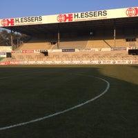 Photo taken at Soevereinstadion | Lommel United by Tars N. on 3/17/2016