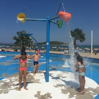 Photo taken at Urla Beach Clup by Emel K. on 8/30/2016