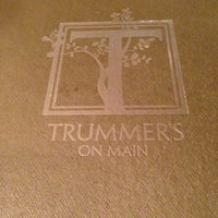 Photo taken at Trummer's on Main by Beej P. on 3/2/2013