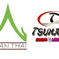 Photo taken at Baan Thai / Tsunami Sushi by Baan Thai / Tsunami Sushi on 5/7/2015