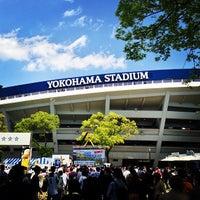 Photo taken at Yokohama Stadium by chuoushibafu on 4/28/2013