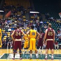 Photo taken at EagleBank Arena by Ric A. on 4/6/2013