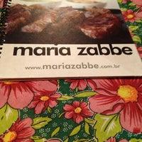 Photo taken at Maria Zabbé by Talita S. on 7/26/2013