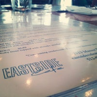 Photo taken at Eastside Cafe by Ryan W. on 3/17/2013
