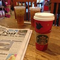 Photo taken at Starbucks by b h. on 11/17/2012
