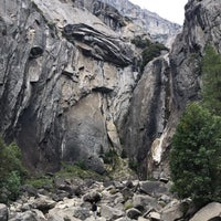 Photo taken at Lower Yosemite Falls by Sweet SunFlower🌻 . on 10/17/2016