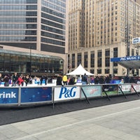 Photo taken at U.S. Bank Ice Rink on Fountain Square by Ken H. on 1/31/2015