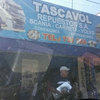Photo taken at Tascavol S.A. Taller Y Repuestos by ever s. on 4/5/2016