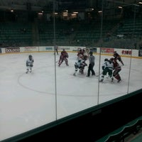 Photo taken at Thompson Arena at Dartmouth by Rizzo S. on 2/23/2013