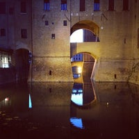 Photo taken at Castello Estense by Stefano Z. on 6/15/2013
